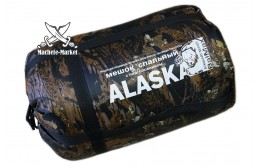 Спальный мешок с подголовником Alaska -15˚С