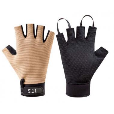 "Беспалые перчатки 5.11 ""Khaki"""