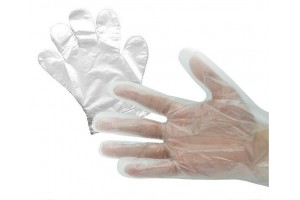 Перчатки одноразовые полиэтиленовые 100шт уп.
