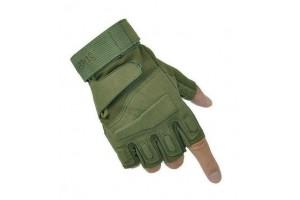 Перчатки беспалые с накладками Oliva