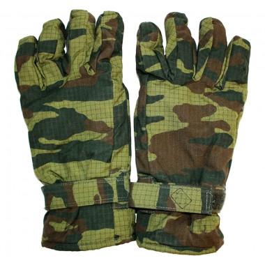 Перчатки зимние армейские камуфляж (рип-стоп, флис)