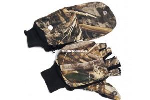 Перчатки-варежки откидные