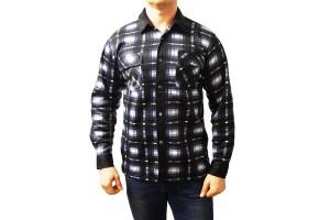 Рубашка утеплённая с начесом