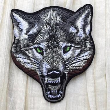 """Термо нашивка на одежду """"Волк"""""""