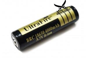 Li-Ion аккумулятор BRC 18650 Ultra Fire 4000mAh 3.7V
