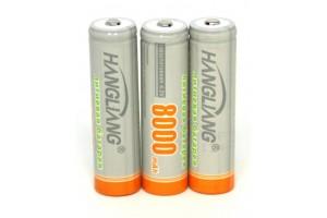 Литиевый высокотоковый аккумулятор  2250 mAh 4.2 V
