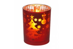 Светодиодный ночник-свеча Эра G16-NY-RED