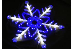 Снежинка Led 74см