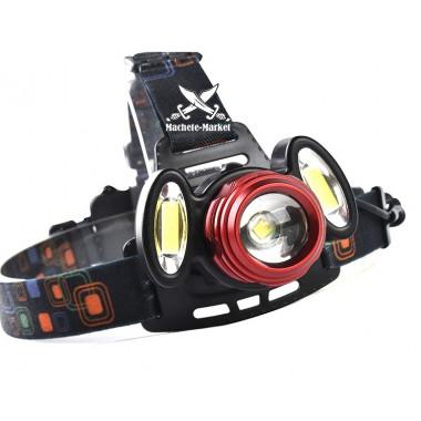 Налобный фонарь T6 3led