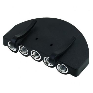 Светодиодный фонарик на козырёк