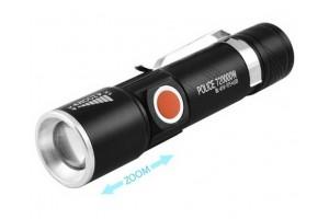 Аккумуляторный  фонарь USB-T6 ZOOM