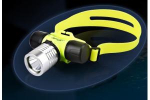 Подводный налобный фонарь
