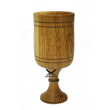 Бокал винный деревянный