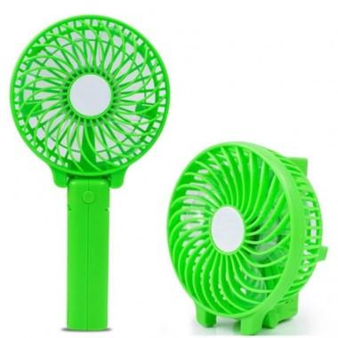 Портативный ручной вентилятор на аккумуляторе