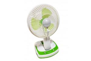 Вентилятор Usb с аккумулятором и лампой