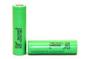 Аккумулятор Li-Ion 18650 Samsung 3.7V 2500 mAh