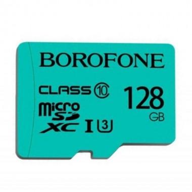 Карта памяти Borofone microSD Class 10 128GB