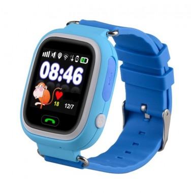 Детские смарт часы с сенсорным экраном Q90