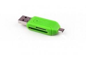 Переходник USB-адаптер SD-Micro Sd