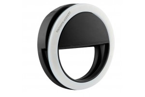 Светодиодное кольцо для селфи на батарейках