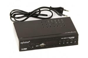 Цифровой HD ресивер TV-тюнер Eplutus DVB-166T