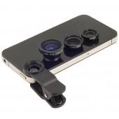 Универсальный объектив-клипса для мобильных устройств