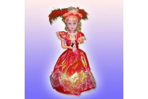 Кукла поющая с микрофоном