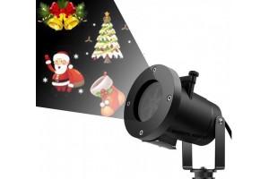 Лазерный проектор новогодних фигур