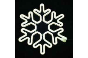 Снежинка светодиодная 40см