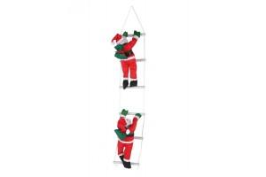 Два Деда Мороза на лестнице