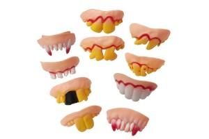 Набор фальшивых зубов