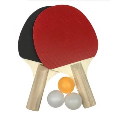 Набор для настольного тенниса (2 ракетки+3 шарика)