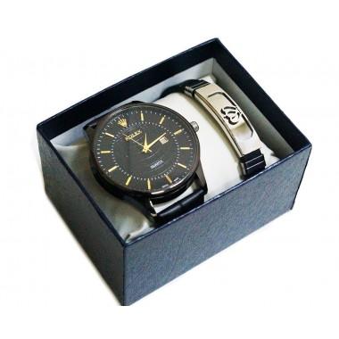 Набор подарочный с часами и браслетом