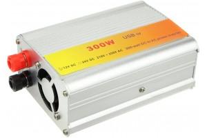 Автомобильный инвертор 300Вт (преобразователь)