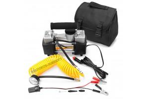 Двухцилиндровый автомобильный компрессор 4х4 60л/мин