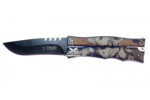 Нож бабочка Columbia камуфляжный