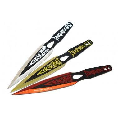 Комплект метательных ножей в чехле
