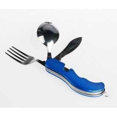 Набор походный ложка-вилка нож
