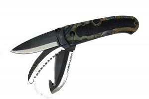 Нож складной многофункциональный 3в1