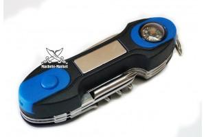 Нож многофункциональный с компасом