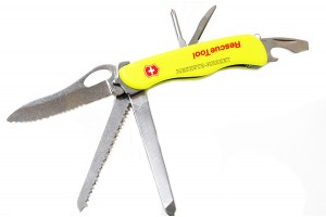 Нож мультитул  Rescue Tool желтый