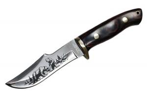 "Нож туристический ""Медведи"""