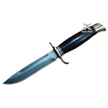 Нож разведчика (финка) из дамасской стали