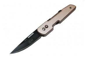Нож складной с карабином  C3971