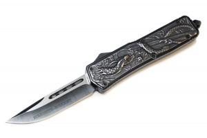Нож выкидной фронтальный MICTECH DRAGON