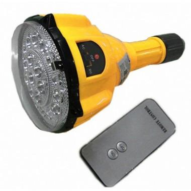 Светодиодная лампа с стандартным цоколем E27 и пультом ДУ