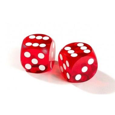 Кубики игральные красные
