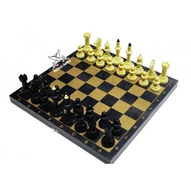 Шахматы чёрные гроссмейстерские 40см