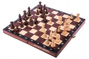 Шахматы деревянные магнитные 26х26 см