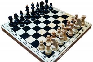 Шахматы деревянные большие